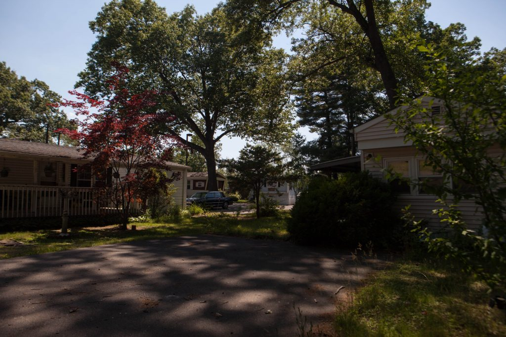 The Apple Valley Village mobile home park in Southington, Connecticut. Just about 6 percent of Southington's housing stock is affordable. But under the new law, mobile homes can count toward a municipality's affordably housing percentage. Photo by Ryan Caron King for NENC