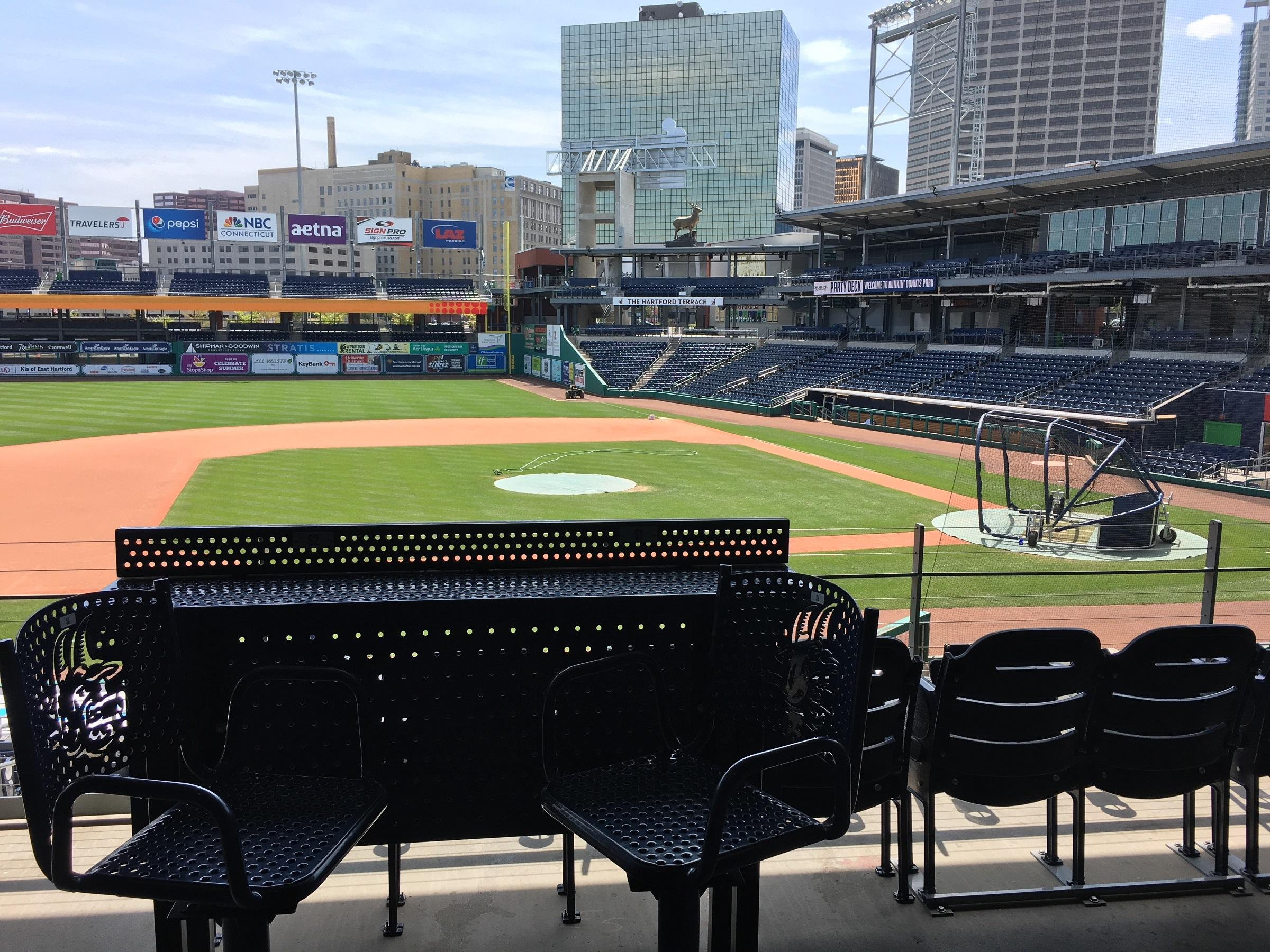 Dunkin' Donuts Park in Hartford, Connecticut. Photo by Carrie Healy for NEPR