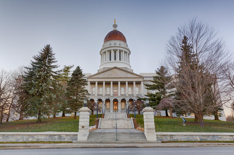 Maine's State House. FLICKR