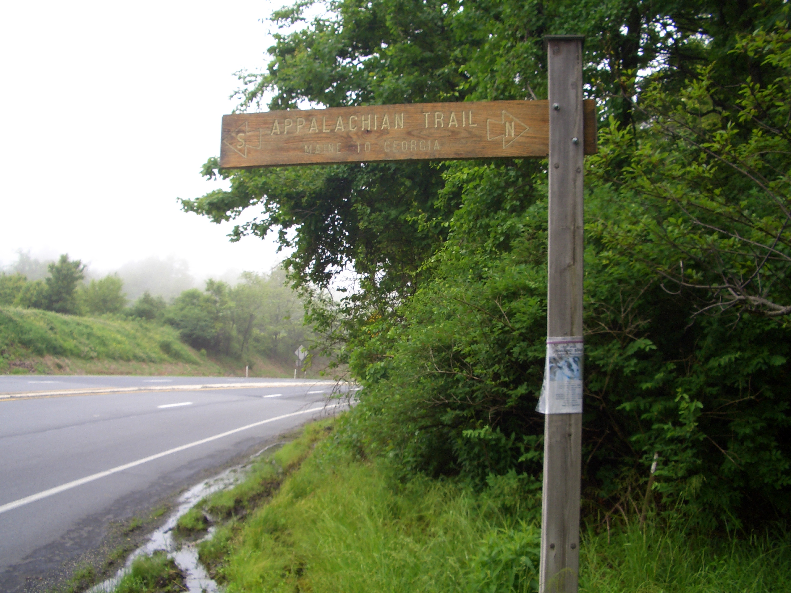 Appalachian Trail Sign. Photo by sk/Flickr.