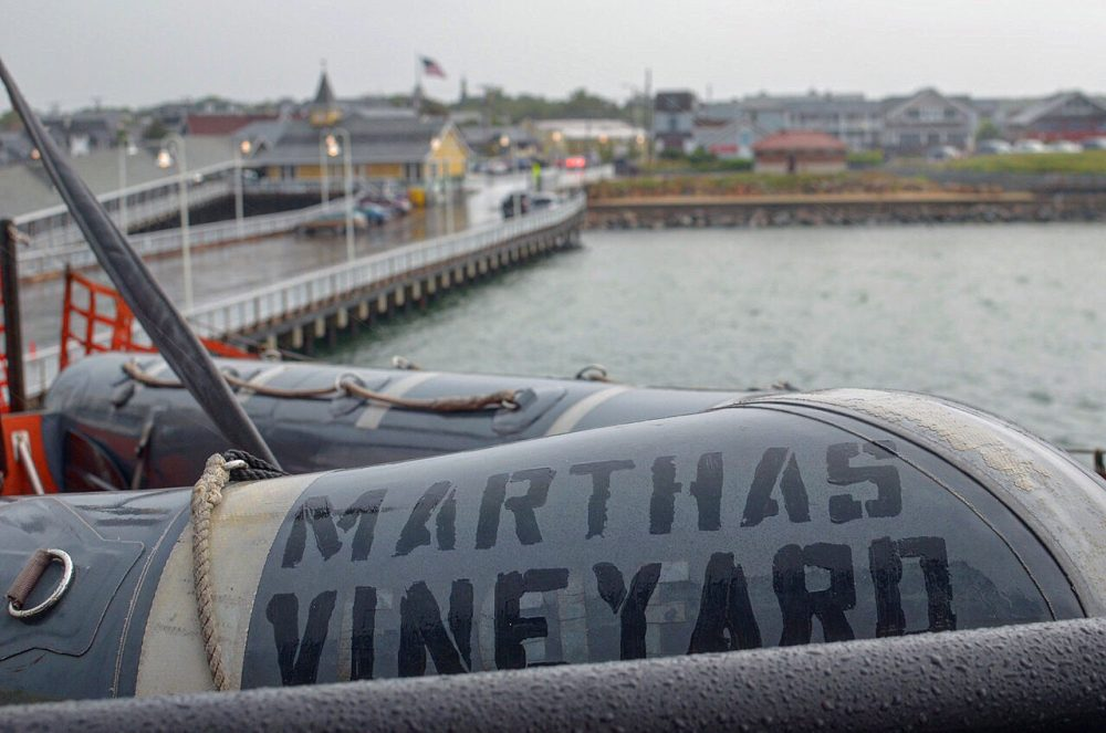 A 2015 photo of the vessel Martha's Vineyard. The ship lost power the night of Saturday, March 17, 2018, but the cause is still under investigation. Photo by Sharon Brody for WBUR