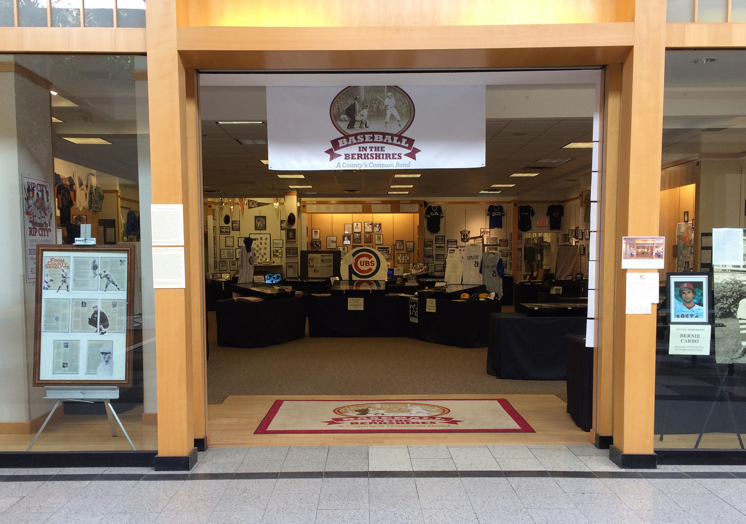 With more empty storefronts than full ones, the 30-year-old Berkshire Mall in Lanesborough, Massachusetts, has seen better days. But near Spencer Gifts and a now-shuttered Hollister, something rather unexpected is alive and well: baseball.