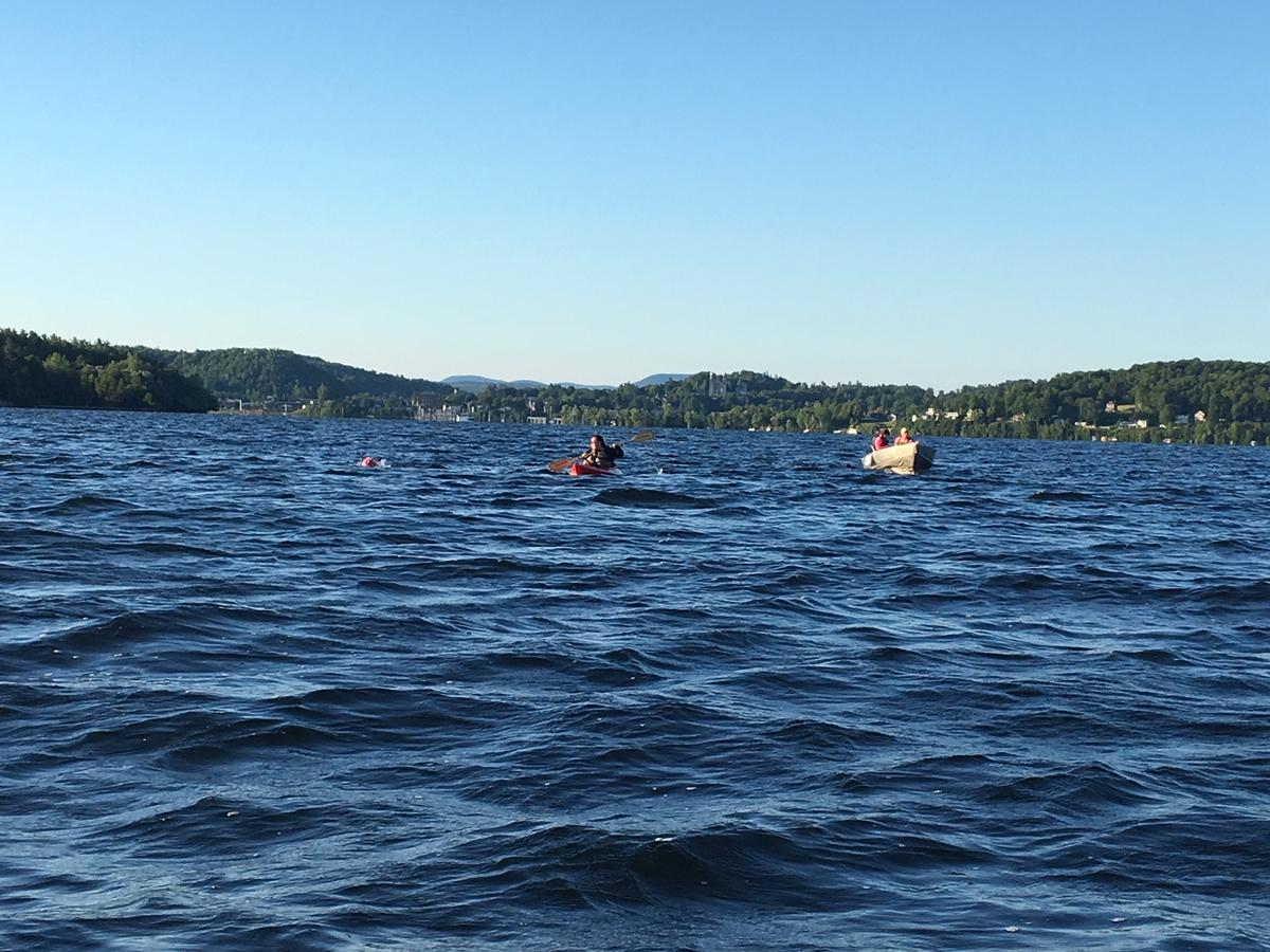 Lake Memphremagog: Marathon Swim From Vermont To Canada
