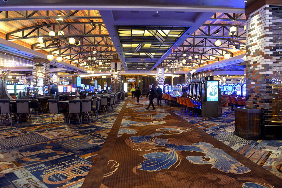 Inside MGM Springfield. Photo by Don Treeger, The Republican, Masslive.com, Photos