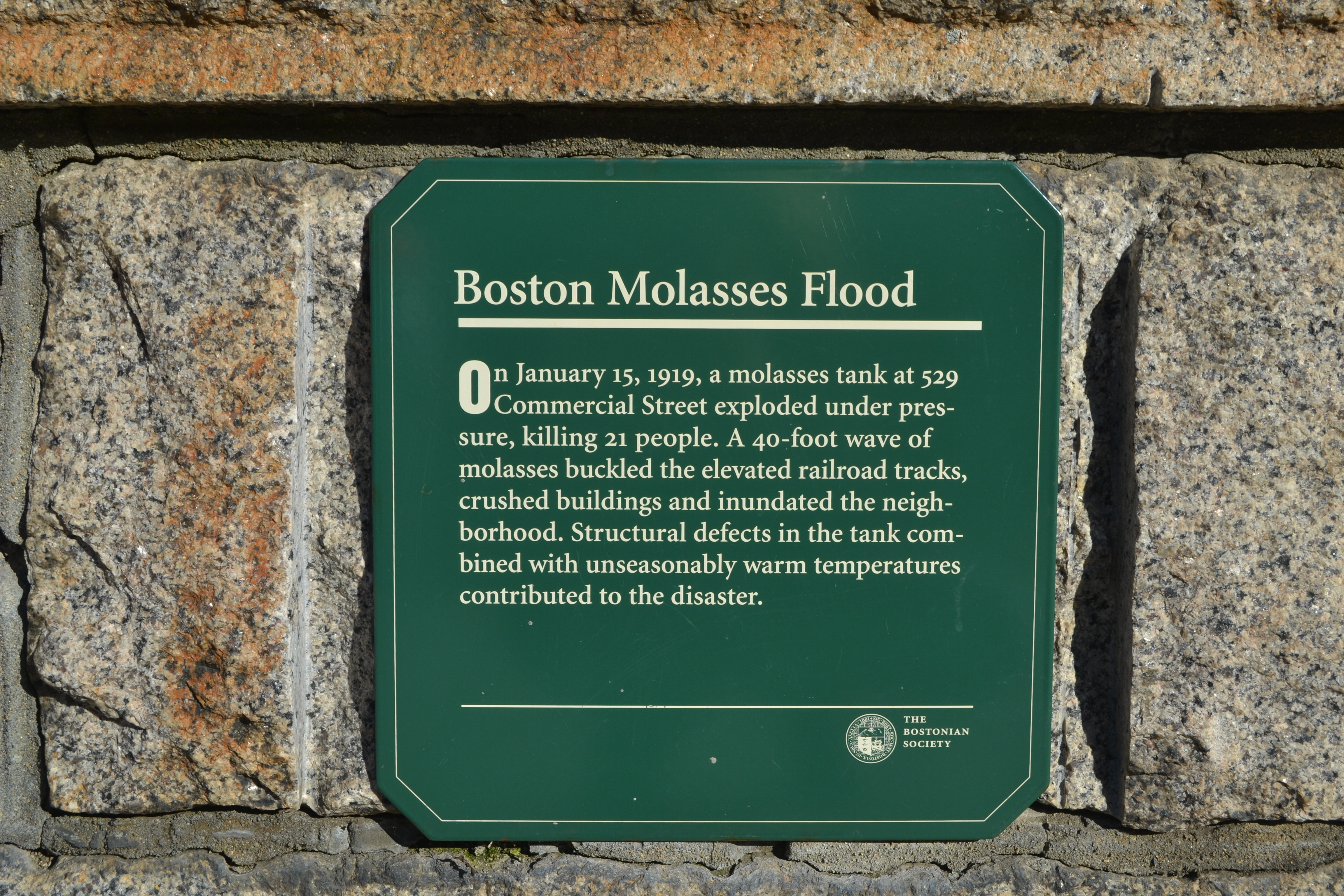 Remembering The Great Boston Molasses Flood, 100 Years Later