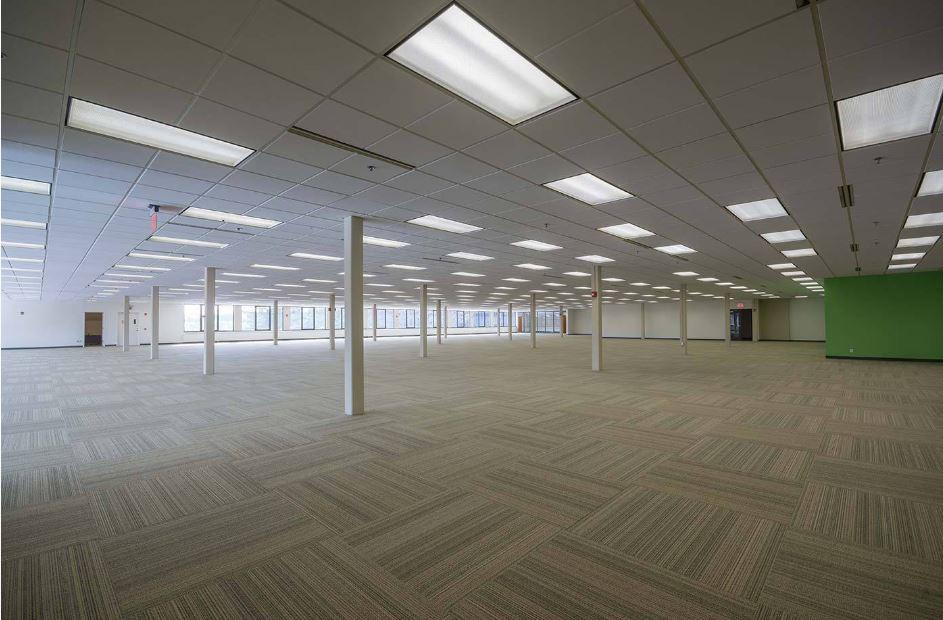Available office space at 3000 Goffs Falls Road, where BAE Systems plans to locate 400-800 new positions. Photo courtesy the state of New Hampshire