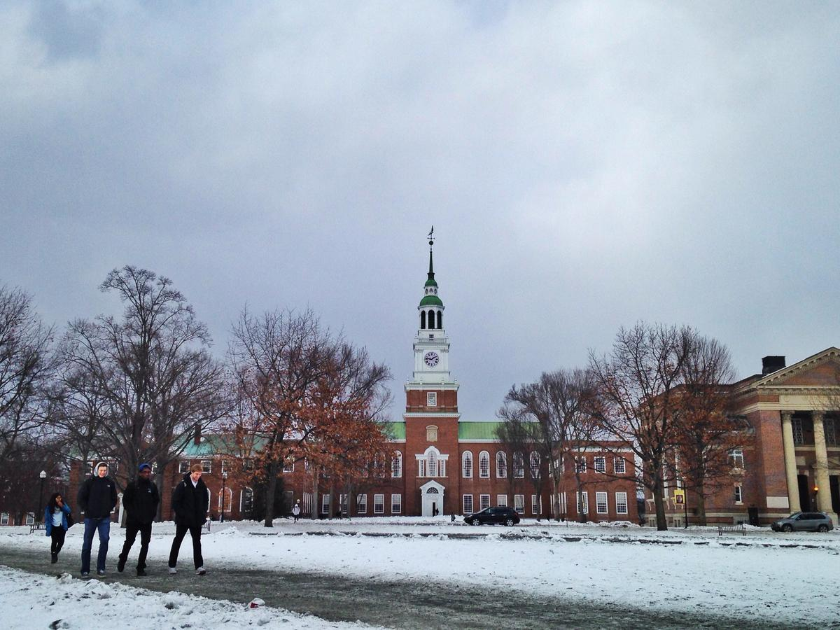 Dartmouth College. Photo by Allison Quantz for NHPR