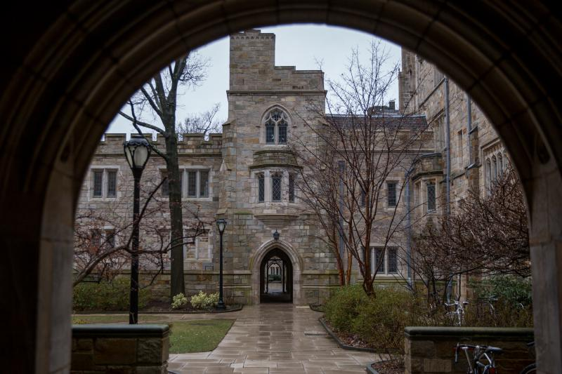 Yale University, one of several schools targeted in bribery scheme. Photo by Frankie Graziano for Connecticut Public Radio