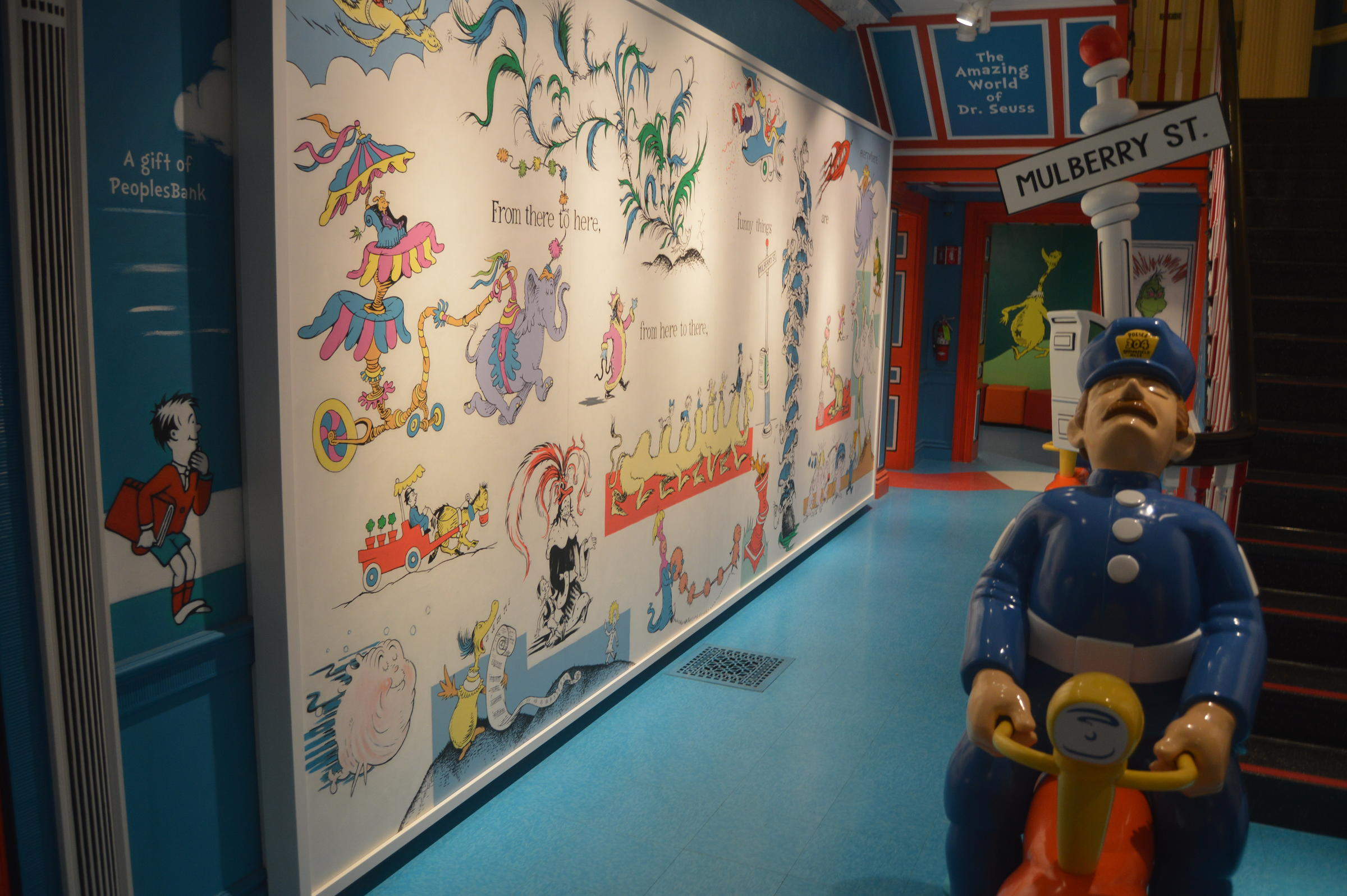 The Dr. Suess Museum in Springfield, Massachusetts. Photo by Sean Teehan for NEPR