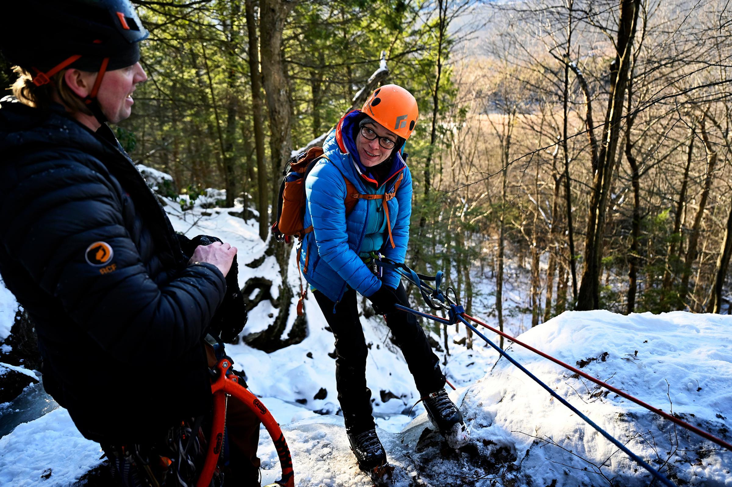 Ice Climbing in Southern New England