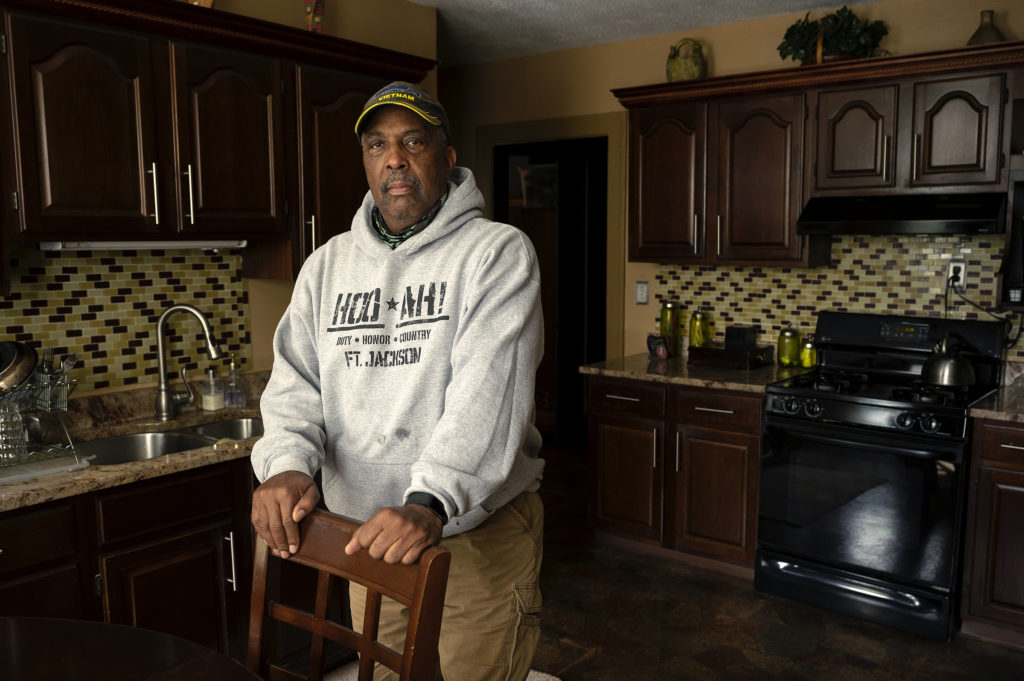 Steve Harris, a longtime resident of Hartford, Conn., said the city's North End used to be an integrated neighborhood. Then came white flight. Now, Harris says, he doesn't see any generational wealth in his neighborhood. Just generational poverty. (Joe Amon/Connecticut Public/NENC)