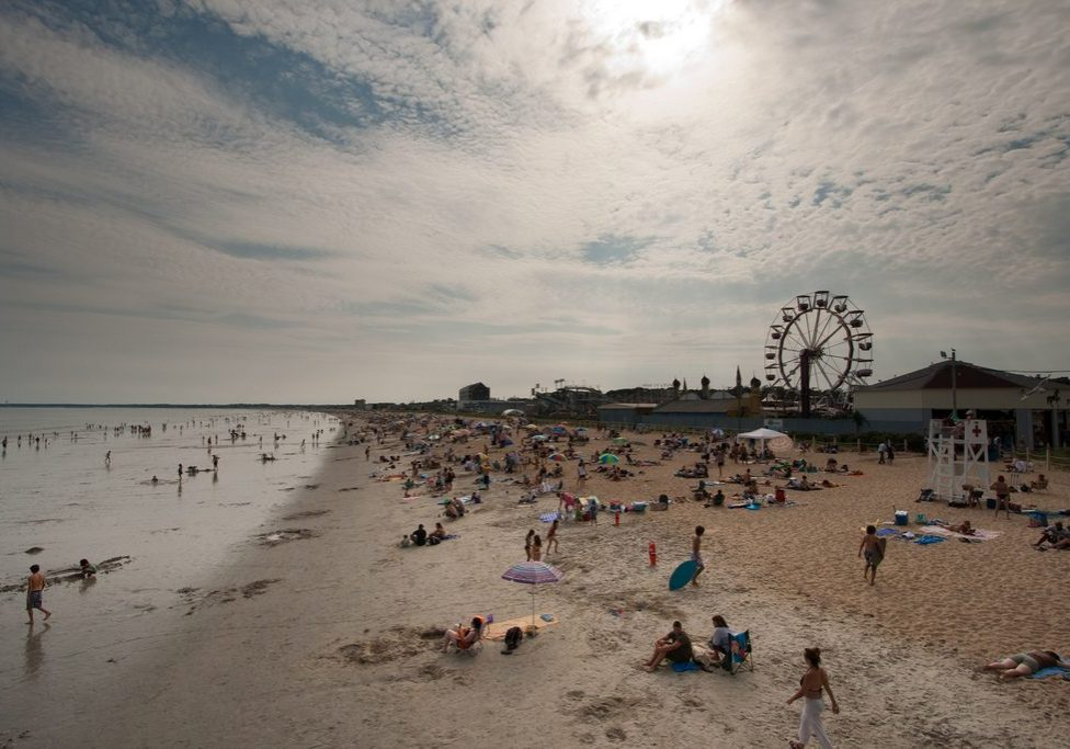 Old Orchard Beach in Maine. Photo by Andrew Malone