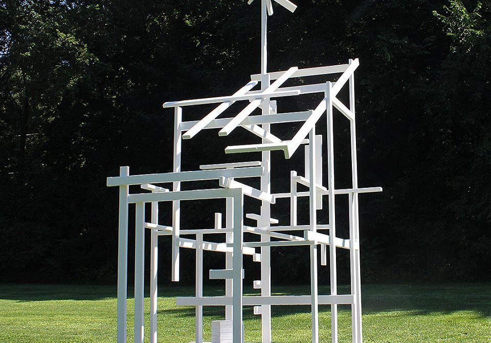 """""""Ghost Shed"""" by Tom Friedman. Photo courtesy of the University Museum of Contemporary Art at UMass"""