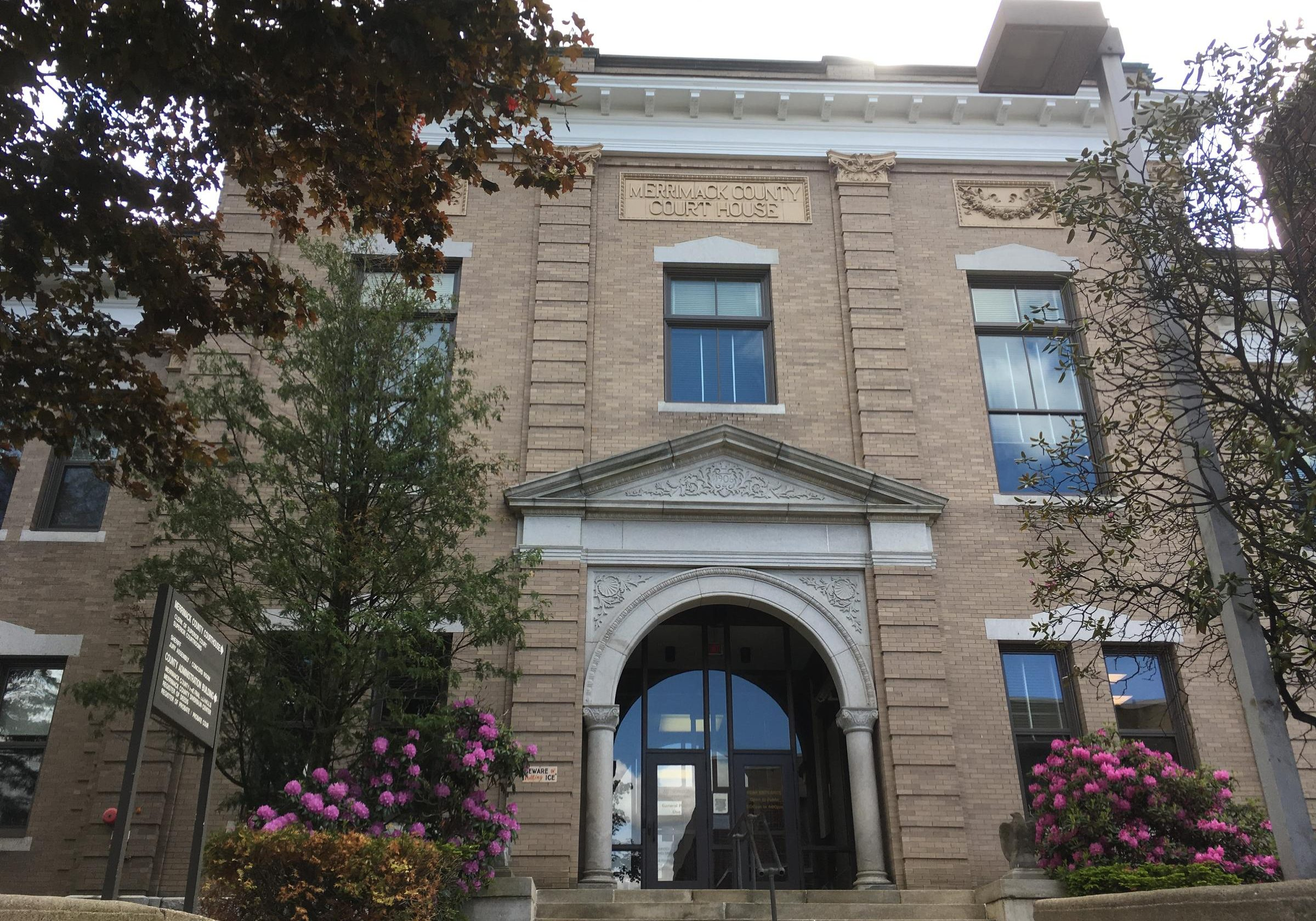Merrimack Superior Courthouse, Concord,. New Hampshire. Photo by Emily Corwin for NHPR