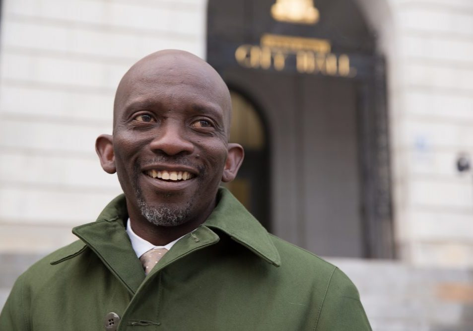 On the same day Donald Trump was elected president, Pious Ali was elected to Portland's City Council, continuing the political rise of the first African-born Muslim to hold public office in Maine.  Ryan Caron King for NENC