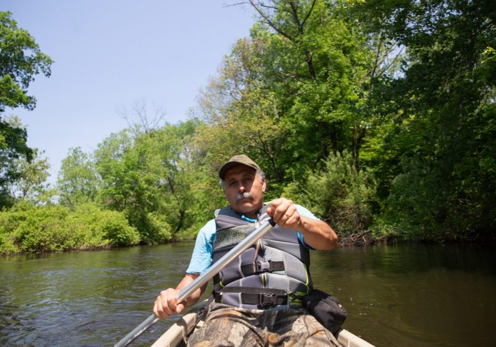 Biologist Pete Picone. Photo by Patrick Skahill for Connecticut Public Radio